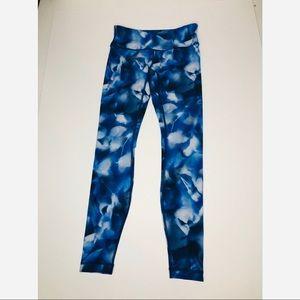 Lululemon Wunder Under Blue tie dye our Leggings 4